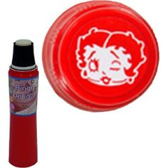 Betty Boop Bingo Delight Red Bingo Dauber by Bingo Delight. $1.94. Betty Boop has invaded the Bingo Delights, get it now in these three colors! The design on the cap is the shape that will be daubed onto the paper. This 55ml dauber has a spring-operated tip that helps to control the amount of ink flow, and is non-refillable.