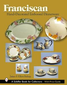 Franciscan Hand-Painted Dinnerware Book  sc 1 st  Pinterest & Franciscan Ware Ad | Franciscan Dinnerware Advertisements ...