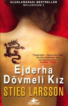 """Okur Testi  """"Ejderha Dövmeli Kız - Stieg Larsson"""" (Man Som Hatar Kvinnor) Pegasus Yayınları http://beyazkitaplik.blogspot.com/2012/02/ejderha-dovmeli-kz-okur-testi.html"""