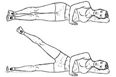 Lying Side Leg Lift / Raise