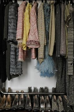 a CHANEL closet