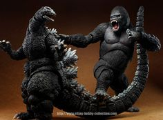 Godzilla Collectibles Thread - Page 260 - Sideshow Freaks Godzilla Vs Destroyah, King Kong Vs Godzilla, Godzilla Figures, All Godzilla Monsters, Godzilla Toys, Sh Monsterarts, Sideshow Freaks, Most Popular Movies, Japanese Monster