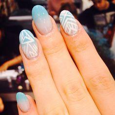 Dreamy fade away nails by WAH gurl @yo_keshh today  #wahnails #nailart #Padgram