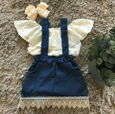 Details about Lace Newborn Kid Baby Girl Top Suspender Skirt Dress Outfits Clothes Summer US S - Moda para niñas pequeñas - Baby Baby Girl Tops, Cute Baby Girl Outfits, Girls Summer Outfits, Cute Baby Clothes, Baby Girl Dresses, Baby Dress, Baby Girls, Dress Girl, Baby Girl Clothes Summer