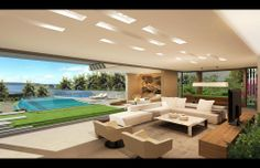 Modern #Interior #Design | A Gold | Sydney, Australia | SAOTA