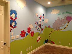 Daycare Setup Home Ideas Playroom Decor Kids Murals For Room Infant Remodels Creative