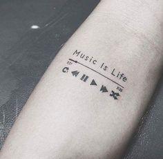 Mini Tattoos, Trendy Tattoos, Small Tattoos, Tattoos For Women, Nice Tattoos For Guys, Family Tattoos, Music Tattoo Designs, Henna Tattoo Designs, Diy Tattoo