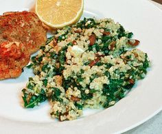 Side Dishes, Favorite Side, Earthy Kale, Food Ideas, Cooking Quinoa ...