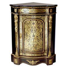 Boulle Corner Cabinet