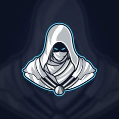 Assassin Mascot Logo Design, Assassin, Mascot, Logo PNG and Vector with Transparent Background for F Team Logo Design, Logo Design Template, Mascot Design, Picture Logo, Photo Logo, Instagram Logo, Icon Design, Design Art, Assassin Logo