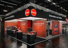 Dreve GmbH auf der IDS 2015 in Köln. Design und Realisation Zenit-Messebau. Messebau Köln