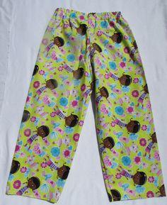 Doc McStuffin pajama cotton pants by livenlovecreations on Etsy Cotton Pyjamas, Cotton Pants, Pajamas, Pajama Bottoms, Pajama Pants, Doc Mcstuffins, Trending Outfits, Clothes, Vintage