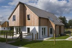larch clad house - Google Search