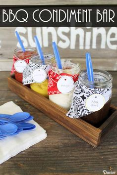 996 best summer fun images on pinterest summer diy baby games and diy condiment holder for summer parties darice solutioingenieria Choice Image