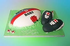 Image result for rugby birthday cake