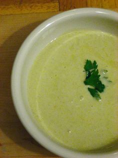 Creamy Asparagus Soup ~ scroll down to find recipe