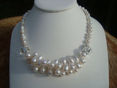 Necklace  Pearl Indulgence  Showoffjewels by showoffjewels on Etsy, £395.00