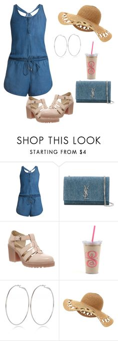"""""""Untitled #553"""" by nellsmboweni ❤ liked on Polyvore featuring Splendid, Yves Saint Laurent, Vagabond, River Island, women's clothing, women, female, woman, misses and juniors"""