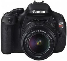 Canon EOS Rebel T3i Front
