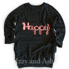 Joah Love Fall 2016 Sweaters|Joah Love Sweaters|Joah Love Happy|Happy Top|Girls Sweaters