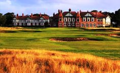 Royal Lytham & St Annes    The course at Royal Lytham & St Annes was built in 1897, 11 years after the club was founded. It quickly gained a reputation as one of the finest, and most exacting links golf courses in Britain. Though a relatively short course, the routing of the holes and the huge number of bunkers — some 200 in all — make it one of the most challenging of the Open venues