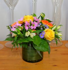 Small Vase Arrangement for the home or office.