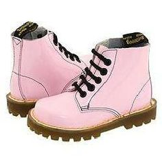 #Light Pink Doc Martens
