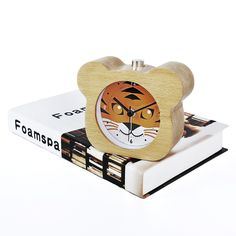 Aliexpress.com : Buy Chinese Zodiac Tiger Modern Snooze Backlight Wood Alarm Clock For Gift Wooden Desktop Table Alarm Clocks Saat Despertador from Reliable wooden alarm clock suppliers on FiBiSonic Official Store