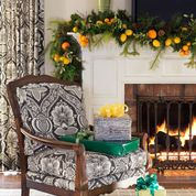 Tobi Fairley Holiday - traditional - living room - little rock - Tobi Fairley Interior Design