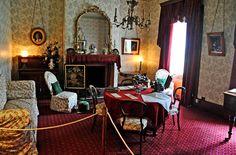 The Commandant drawing room, Port Arthur, Tasmania.