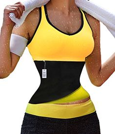 2248efc99ae Amazon.com  Gotoly Hot Thermo Sweat Neoprene Shapers Belt Waist Cincher for Weight  Loss  Clothing