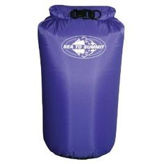 Dry Sacks are a great way to keep your dry stuff......well....dry. If it can't get wet, put it in one of these. The bigger the better. $24