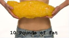 10 pounds of fat picture | 10 pounds is 10 pounds, but 10 pounds of fat just looks plain gross!
