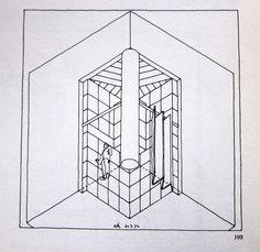 Rob Krier · Dickie House, 1976