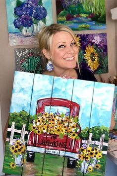 Learn How to Paint with Christie Hawkins and The Social Easel Online Paint Studio! Master basic painting techniques with the help of Christie Hawkins' step-by-step tutorials to create your very own masterpiece. Acrylic and mixed media painting. The Social Basic Painting, Simple Acrylic Paintings, Acrylic Painting Techniques, Step By Step Painting, Painting Videos, Painting Lessons, Online Painting, Diy Painting, Painting & Drawing