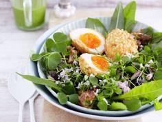 Schonmal Nusseier gegessen? Falls nicht, musst du diesen Frühlingssalat unbedingt probieren!