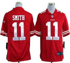 Alex Smith Red jersey  Red Alex Smith San Francisco 11 2013 Super Bowl  XLVII Game C Patch nike men jersey 45d5f6ae5
