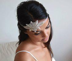 Wedding Headband, Wedding Hair Accessories, Rhinestone Headband, Bridal Headpieces, Bridal Hair Accessories, Accessories, Rhinestone Band by DRLBRIDES on Etsy https://www.etsy.com/listing/239408620/wedding-headband-wedding-hair