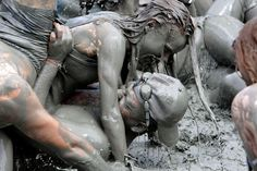Strange is not a word : the most bizarre festivals around the global village BORYEONG MUD FESTIVAL , BORYEONG , SOUTH KOREA