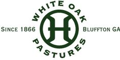 White Oak Pastures   Bluffton, GA White Oak Pastures is a multigenerational family farm that cooperates with nature to produce artisan products that are healthy, safe, nutritious and delicious. Care is given to ensure that all production practices are economically practical, ecologically sustainable, and that their animals are always humanely treated.