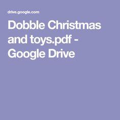 Dobble Christmas and toys. Google Drive, Pdf, Christmas, Games, Noel, Gift, Gaming, Xmas, Navidad