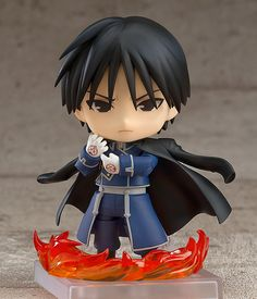 FULLMETAL ALCHEMIST: Nendoroid Roy Mustang by Good Smile Company on preorder | Moonlit Saki