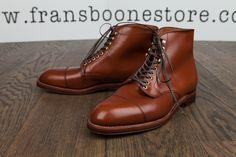 Alden x Frans Boone calfskin boots : Grant last