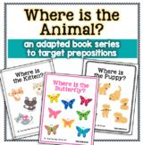 Where is the Animal? {an Adapted Book Series. by The Autism Helper Preschool Printables, Preschool Activities, Preposition Activities, Teacher Tote, Preschool Special Education, Unit Plan, Autism Spectrum Disorder, Prepositions, Reading