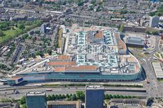 An aerial photograph of Westfield Shopping Centre in White City / Shepherds Bush, West London Westfield Shopping Centre, Shopping Center, Shepherds Bush, White City, West London, Aerial Photography, City Photo, Commercial, Image