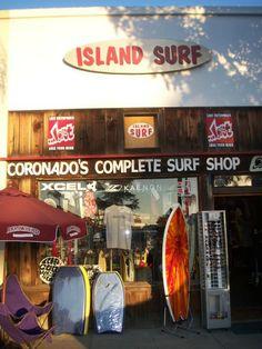 Island Surf, Coronado