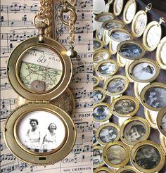 Erica Weiner Imagined Memory Locket Necklace