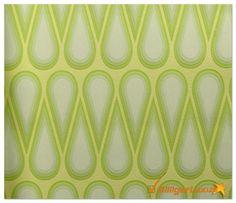 Karim Rashid Designer wallpaper retro 52013 yellow green