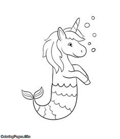 Fine Coloring Page Unicorn Mermaid that you must know, You?re in good company if you?re looking for Coloring Page Unicorn Mermaid Dolphin Coloring Pages, Unique Coloring Pages, Fish Coloring Page, Mermaid Coloring Pages, Pokemon Coloring Pages, Free Coloring Pages, Coloring Sheets, Kids Coloring, Printable Coloring