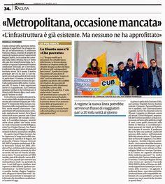 Metropolitana, occasione mancata. Il docente universitario Russo ha fatto il punto della situazione al convegno della Cub | Comitato Pendolari Siciliani